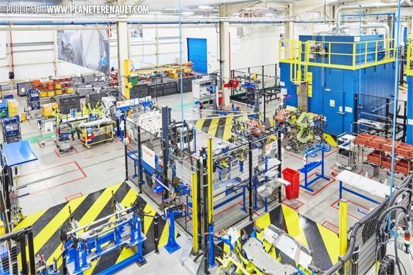 La ligne de production de l'Alpine A110 de Dieppe inaugurée